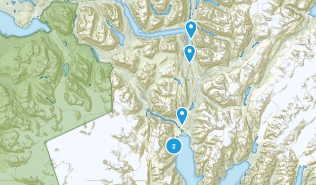 Seward, Alaska Wildlife Map