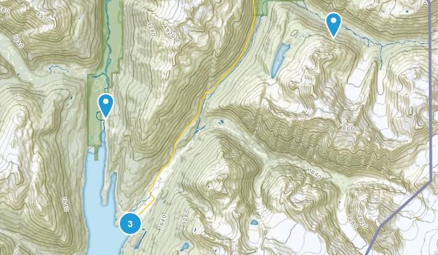 Skagway, Alaska Nature Trips Map