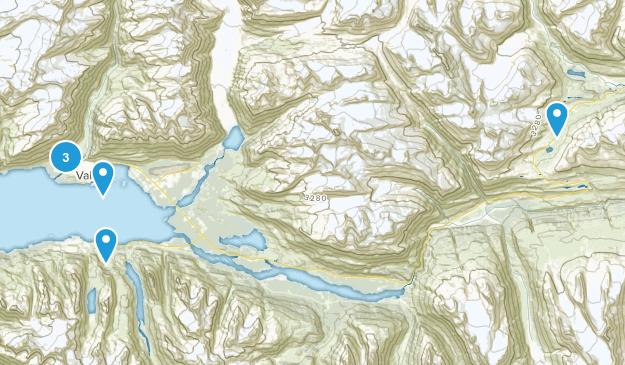 Valdez, Alaska Nature Trips Map