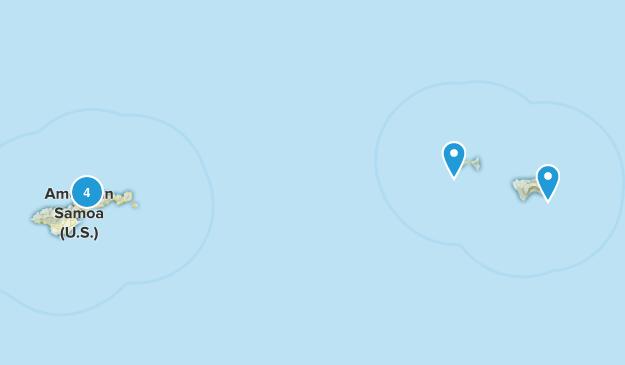 Pago Pago, American Samoa Walking Map