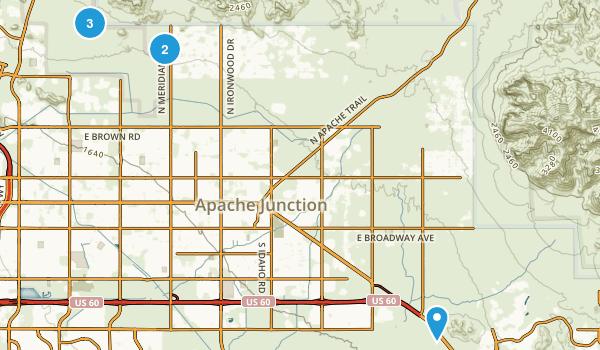 Best Mountain Biking Trails near Apache Junction Arizona 251