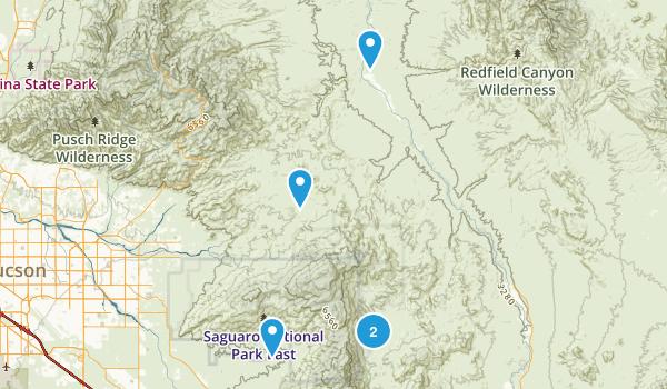 Benson, Arizona No Dogs Map