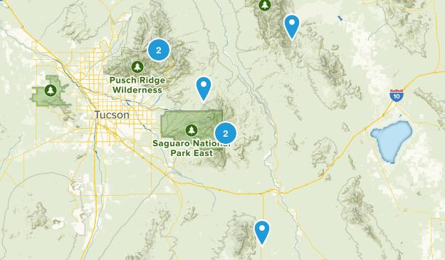 Benson, Arizona Nature Trips Map