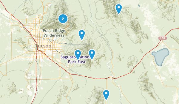 Benson, Arizona Walking Map