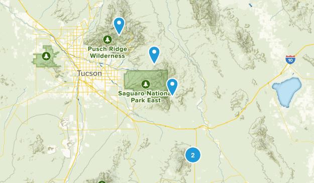 Benson, Arizona Wildlife Map