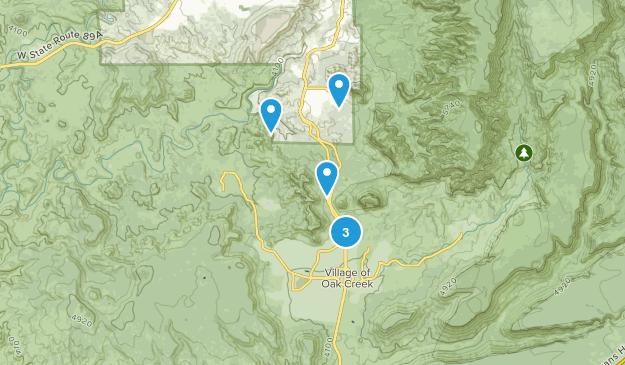 Big Park, Arizona Nature Trips Map