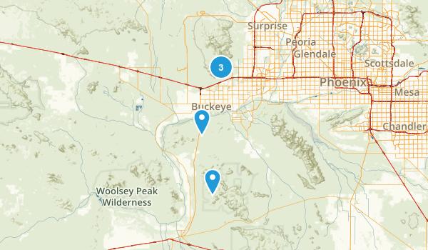 Buckeye, Arizona Walking Map