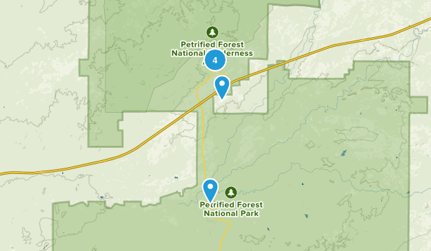 Chambers, Arizona Nature Trips Map