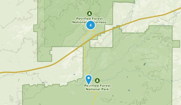 Chambers, Arizona Walking Map