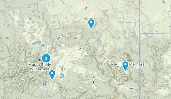 Eagar, Arizona Birding Map