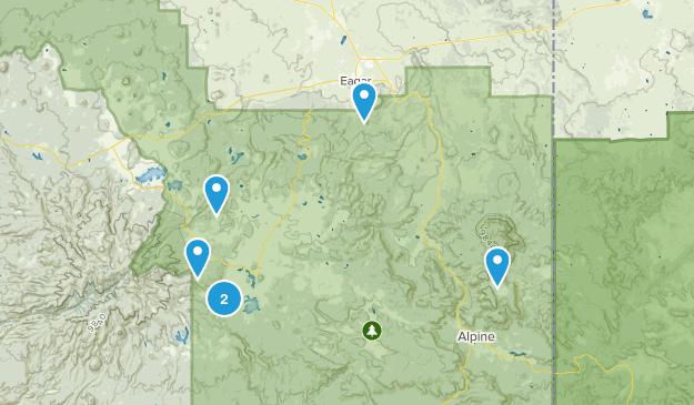 Eagar, Arizona Walking Map