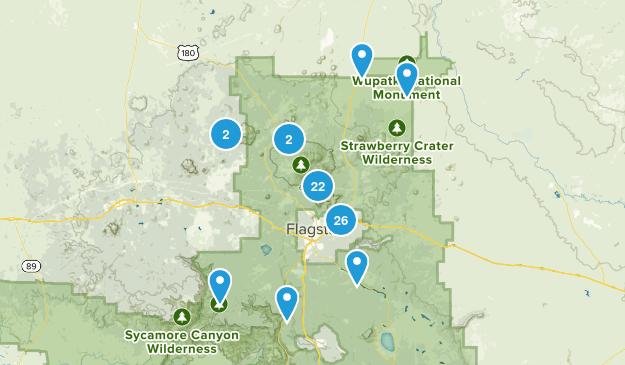 Flagstaff, Arizona Birding Map