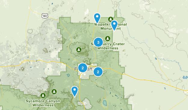 Flagstaff, Arizona No Dogs Map