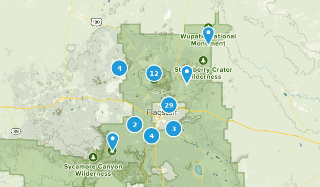 Map Of Flagstaff Arizona.Best Forest Trails Near Flagstaff Arizona Alltrails