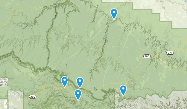 Forest Lakes, Arizona Birding Map