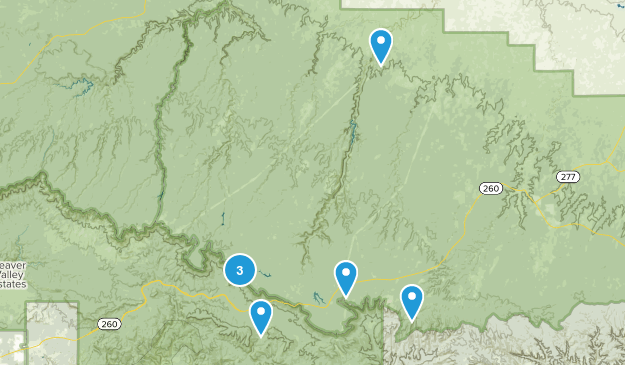 Forest Lakes, Arizona Nature Trips Map