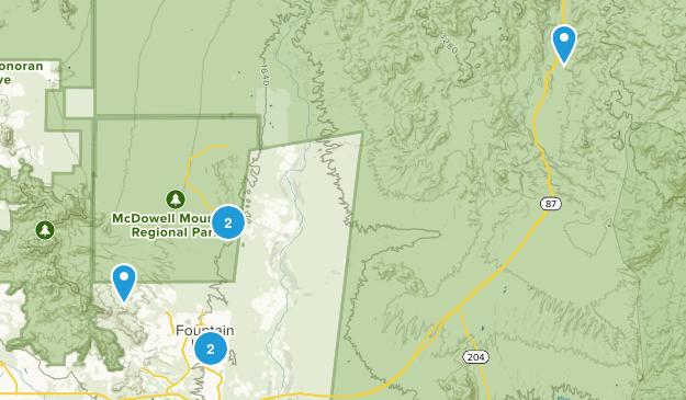 Fountain Hills, Arizona Birding Map