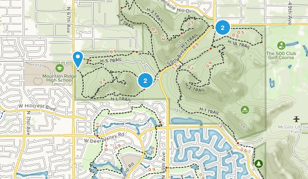 Glendale, Arizona Kid Friendly Map
