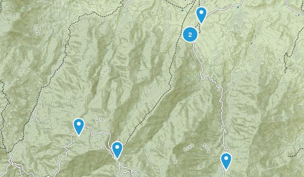 Globe, Arizona Hiking Map