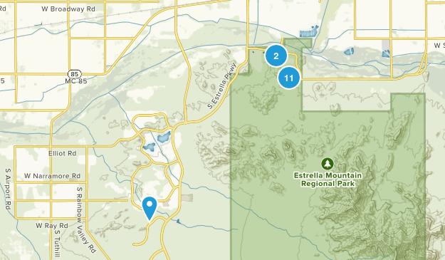 Goodyear, Arizona Kid Friendly Map
