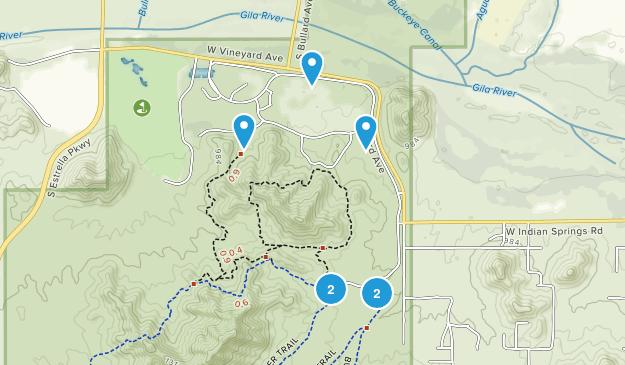 Goodyear, Arizona Wildlife Map