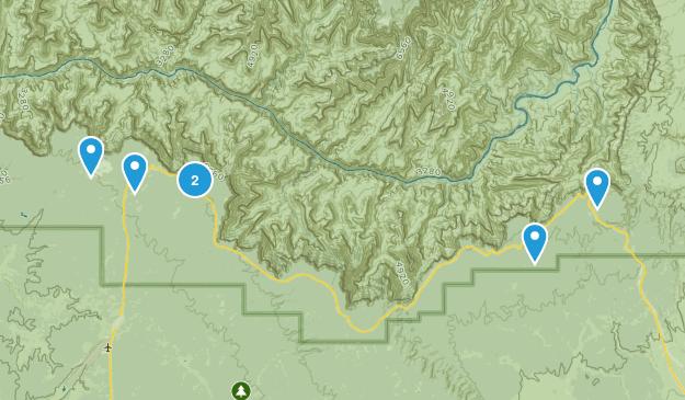 Grand Canyon, Arizona Kid Friendly Map