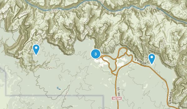 Best Camping Trails near Grand Canyon Village Arizona 403