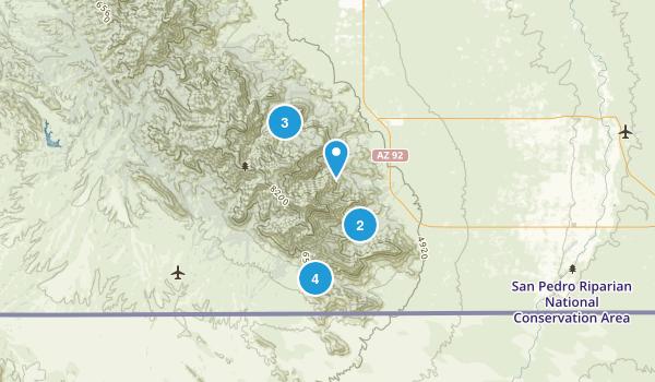 Hereford, Arizona Birding Map