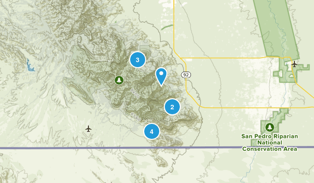 Hereford, Arizona Birding Map
