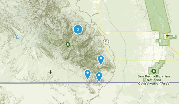 Hereford, Arizona Kid Friendly Map