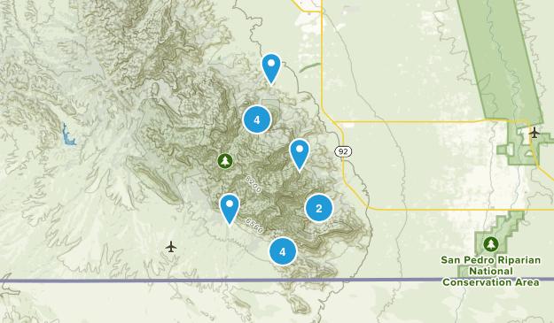 Hereford, Arizona Nature Trips Map