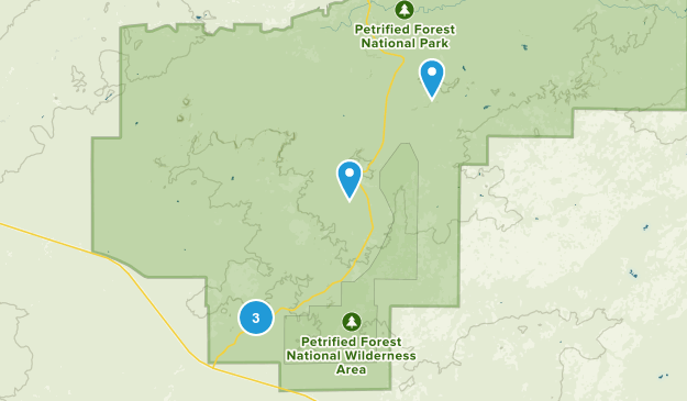 Holbrook, Arizona Views Map