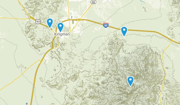 Map Of Arizona Kingman.Best Walking Trails Near Kingman Arizona Alltrails