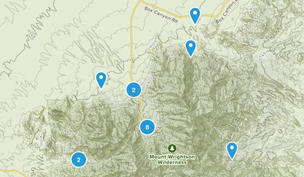 Madera Canyon, Arizona Birding Map