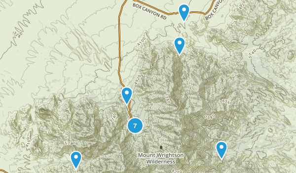 Madera Canyon, Arizona Wildlife Map