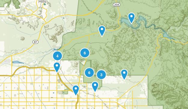 Mesa, Arizona Views Map