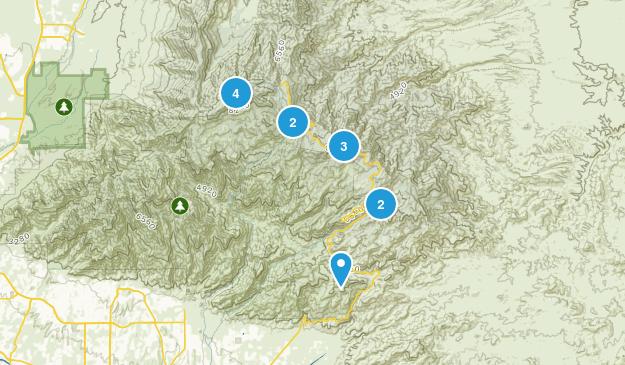 Mount Lemmon, Arizona Wildlife Map