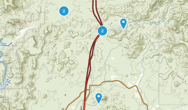 New River, Arizona Nature Trips Map