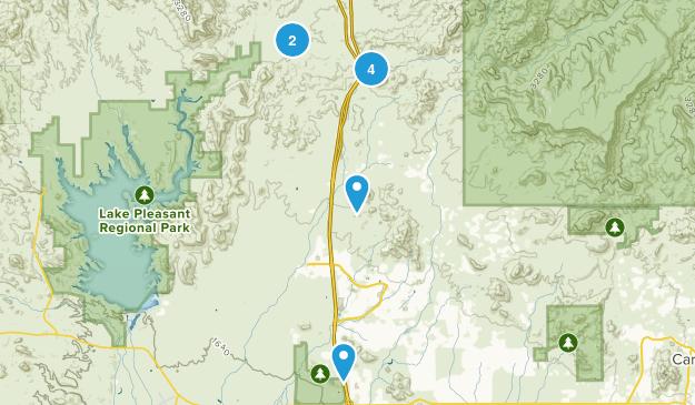 New River, Arizona Views Map