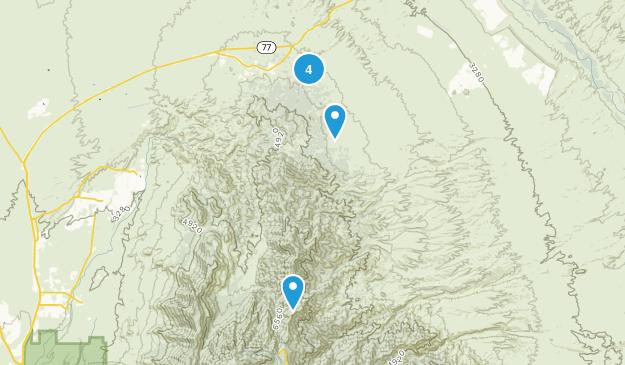 Oracle, Arizona Views Map