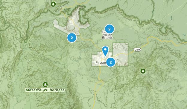 Payson, Arizona Kid Friendly Map
