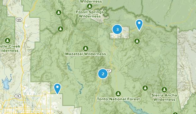 Driving Map Of Arizona.Best Off Road Driving Trails Near Payson Arizona Alltrails
