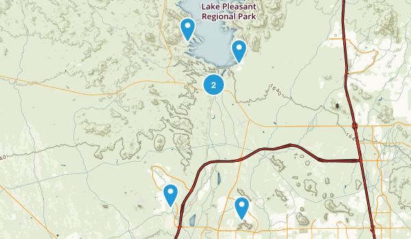 Peoria, Arizona Birding Map