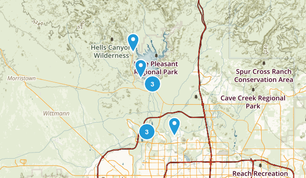 Peoria, Arizona Views Map