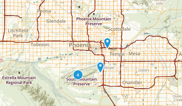 Us Map Scottsdale Arizona - Phoenix arizona on us map