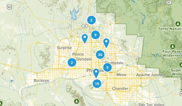 Phoenix, Arizona Kid Friendly Map