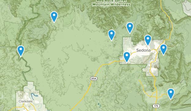 Map Of 89a Arizona.Best Backpacking Trails Near Sedona Arizona Alltrails