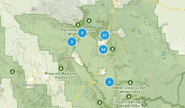Sedona, Arizona Birding Map