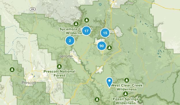 Sedona, Arizona Hiking Map