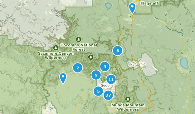 Map Of Arizona Including Sedona.Best Kid Friendly Trails Near Sedona Arizona Alltrails